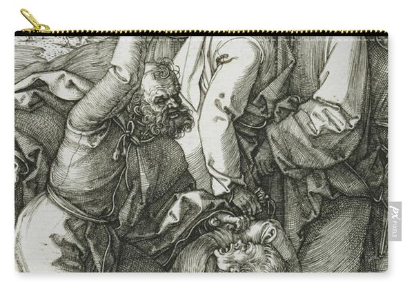 The Betrayal Of Christ Carry-all Pouch