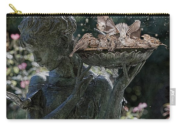 The Bird Bath Carry-all Pouch