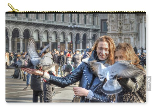 The Birds Of Milan Carry-all Pouch