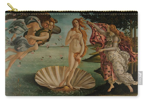 The Birth Of Venus, Original Carry-all Pouch