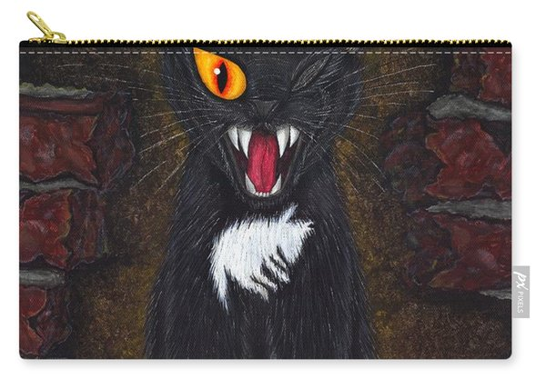 The Black Cat Edgar Allan Poe Carry-all Pouch