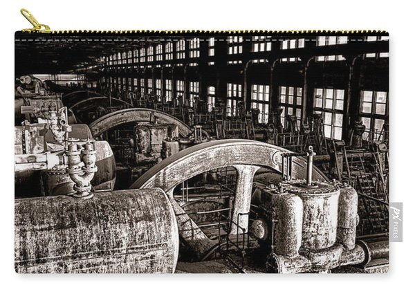The Blower House At Bethlehem Steel  Carry-all Pouch