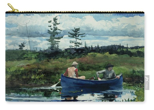 The Blue Boat Carry-all Pouch