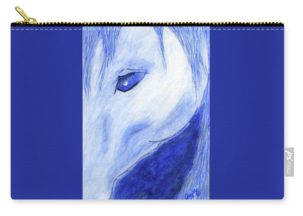 The Blue Horse Carry-all Pouch