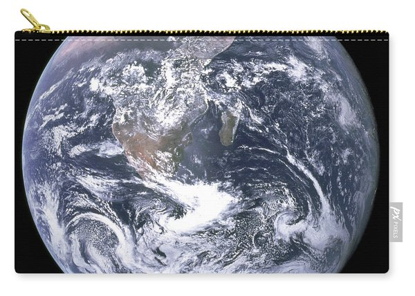 The Blue Planet - The Blue Marble  By Apollo 17 Carry-all Pouch
