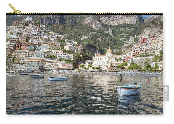 The Boats Of Positano  Carry-all Pouch