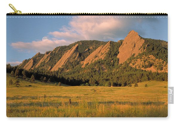 The Boulder Flatirons Carry-all Pouch