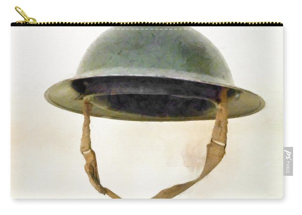 The British Brodie Helmet  Carry-all Pouch