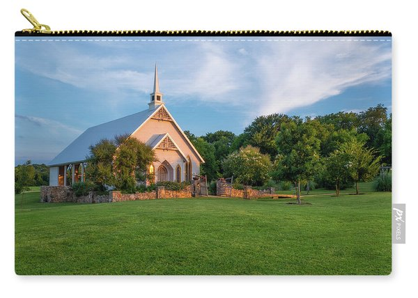 The Brooks At Weatherford Wedding Chapel Carry-all Pouch