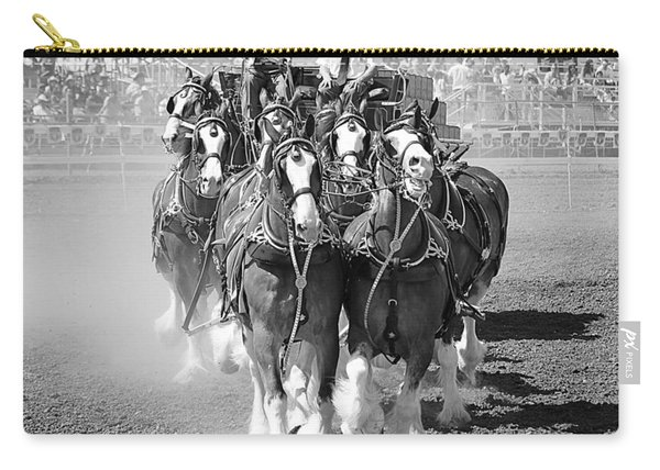 The Budweiser Clydesdales Carry-all Pouch