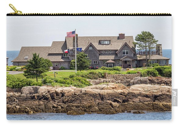 The Bush Compound Kennebunkport Maine Carry-all Pouch