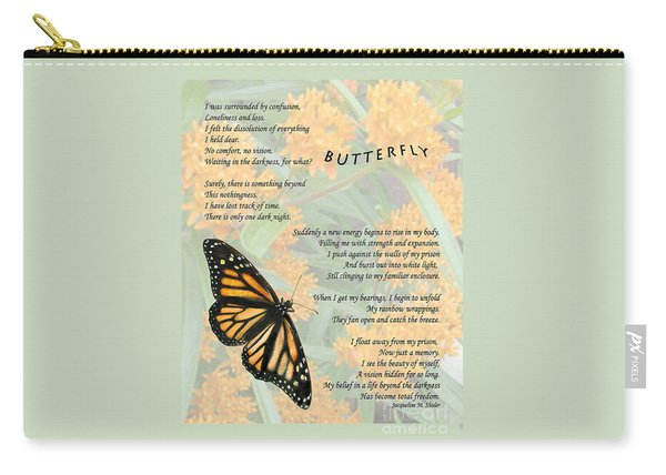 The Butterfly Carry-all Pouch