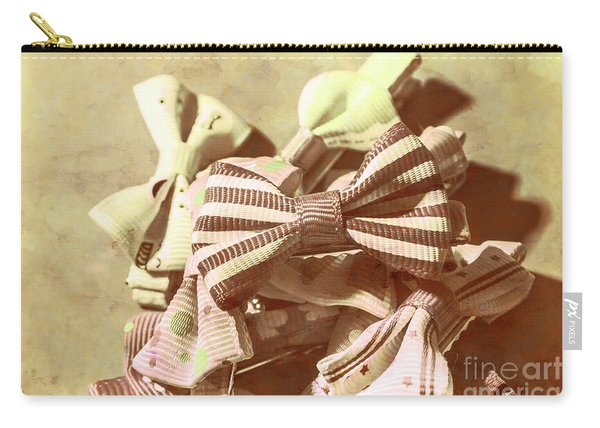 The Bygone Bowtie Club Carry-all Pouch