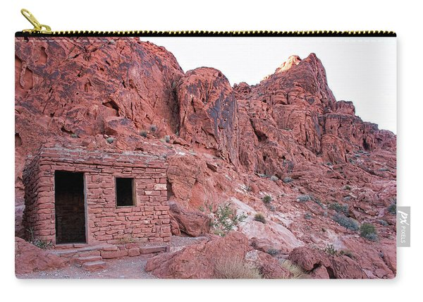 The Cabin Of Sandstone Carry-all Pouch