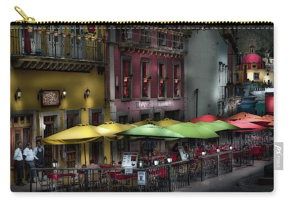 The Cafe At Night Carry-all Pouch