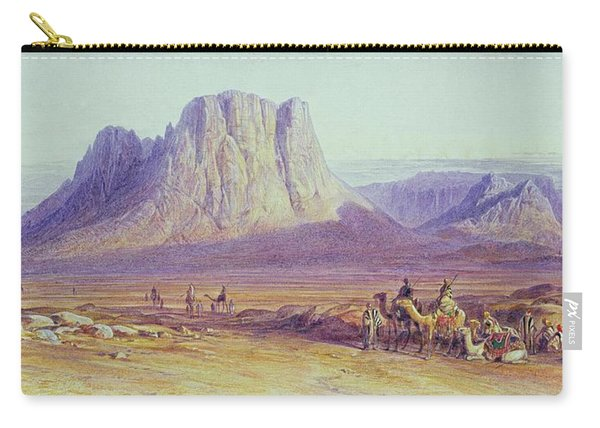 The Camel Train Carry-all Pouch