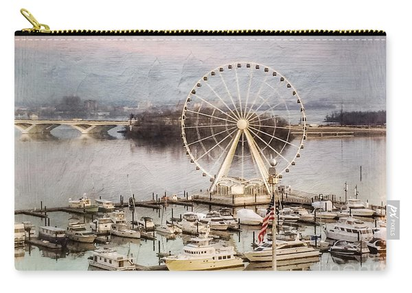 The Capital Wheel At National Harbor Carry-all Pouch