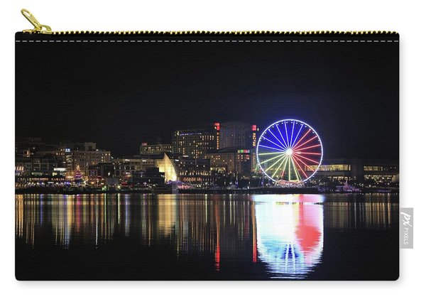 The Capital Wheel Over The Potomac Carry-all Pouch