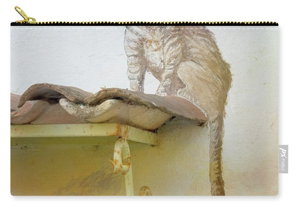 The Cat On The Roof Mural Carry-all Pouch