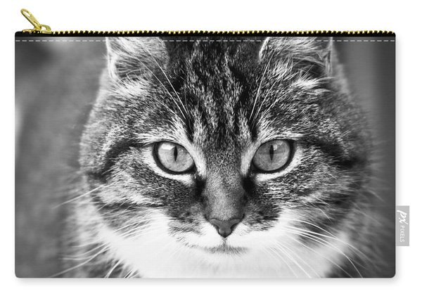 The Cat Stare Down Carry-all Pouch