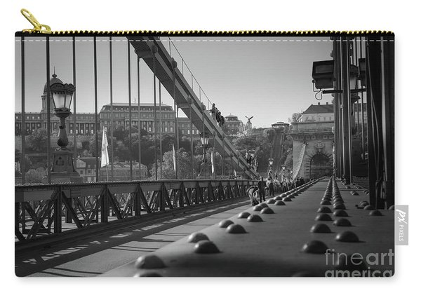 The Chain Bridge, Danube Budapest Carry-all Pouch