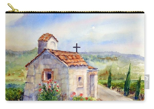 The Chapel - Castello Di Amorosa Carry-all Pouch