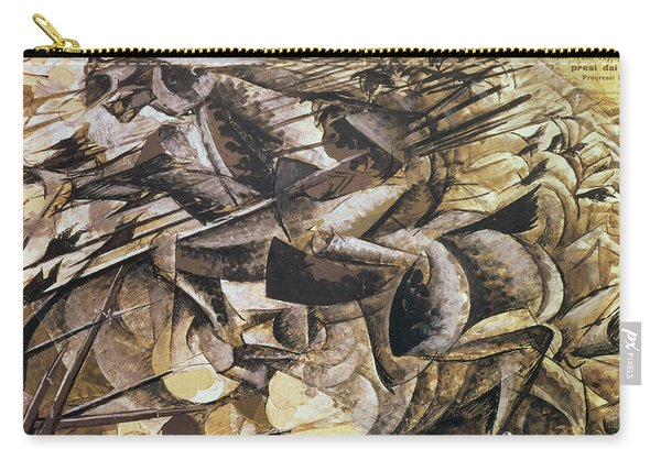 The Charge Of The Lancers Carry-all Pouch