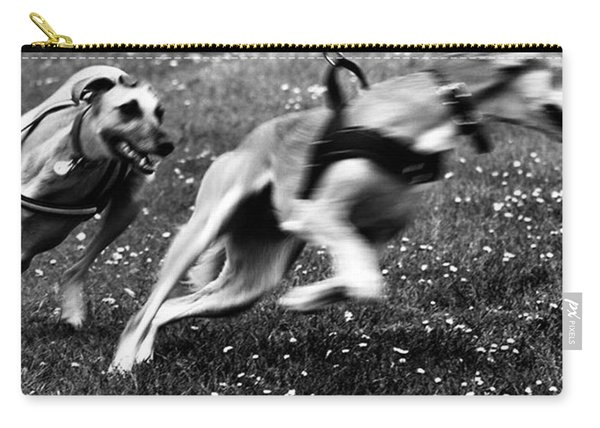 The Chasing Game. Ava Loves Being Carry-all Pouch
