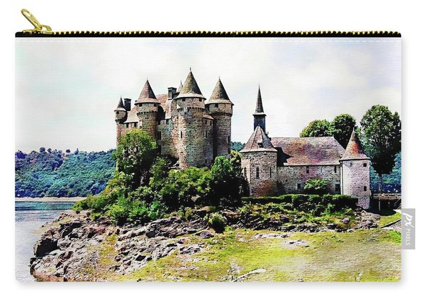 The Chateau De Val Carry-all Pouch