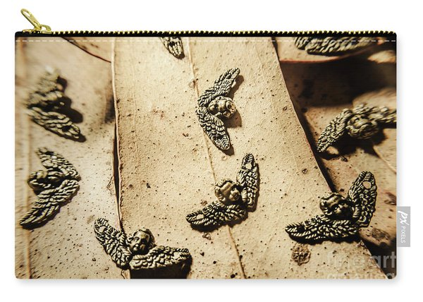The Cherubs Of Love Carry-all Pouch
