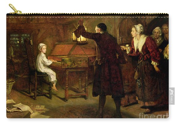 The Child Handel Discovered By His Parents Carry-all Pouch