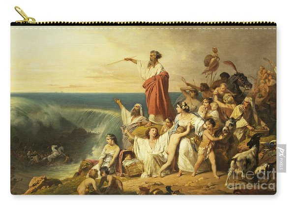 The Children Of Israel Crossing The Red Sea Carry-all Pouch