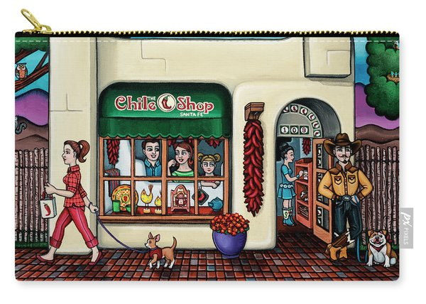 The Chile Shop Santa Fe Carry-all Pouch