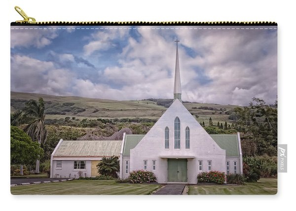 Carry-all Pouch featuring the photograph The Church by Jim Thompson
