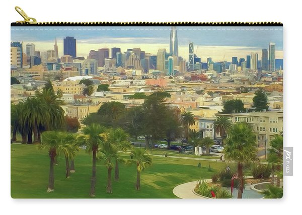 The City From Dolores Park Carry-all Pouch