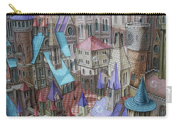 The City Of Crow Carry-all Pouch
