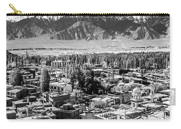 The City Of Leh, From The Rooftops To Carry-all Pouch