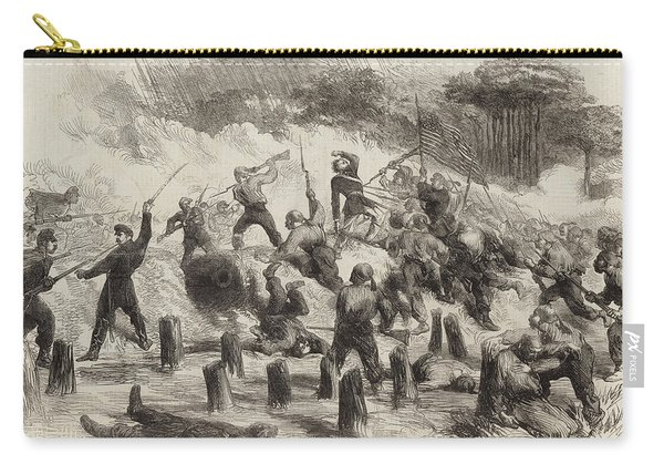 The Civil War In America  General Burnside's Expedition Carry-all Pouch