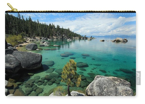 Carry-all Pouch featuring the photograph The Clarity Of Truth by Sean Sarsfield