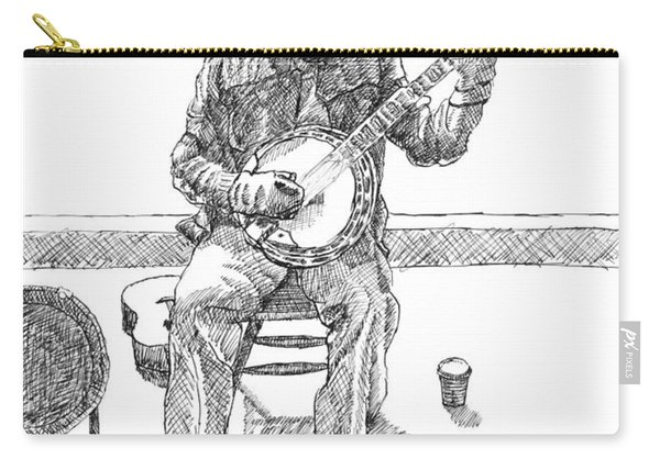 The Cold Banjo Player Carry-all Pouch