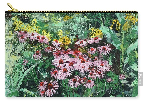 Coneflowers  Garden Carry-all Pouch