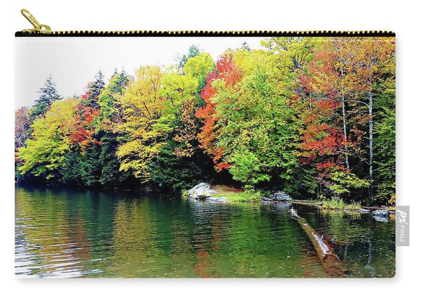 The Colors Of Lake Raponda - Wilmington, Vermont Carry-all Pouch