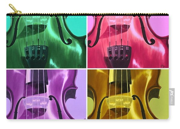 The Colors Of Sound Carry-all Pouch