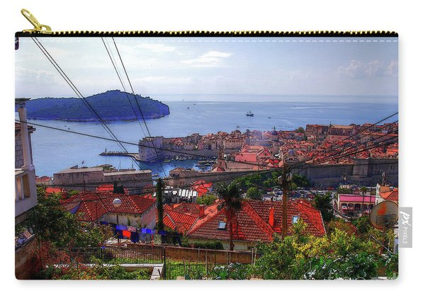 The Colourful City Of Dubrovnik Carry-all Pouch