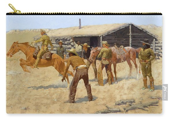 The Coming And Going Of The Pony Express Carry-all Pouch