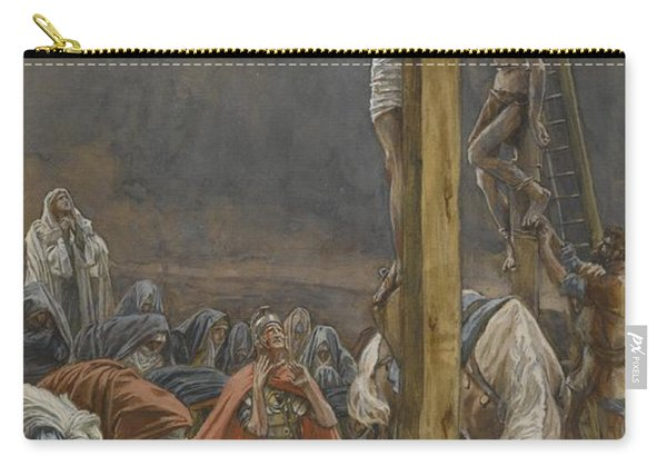 The Confession Of Saint Longinus Carry-all Pouch