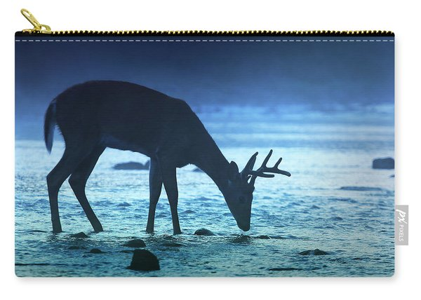 The Cool Of The Night - Square Carry-all Pouch