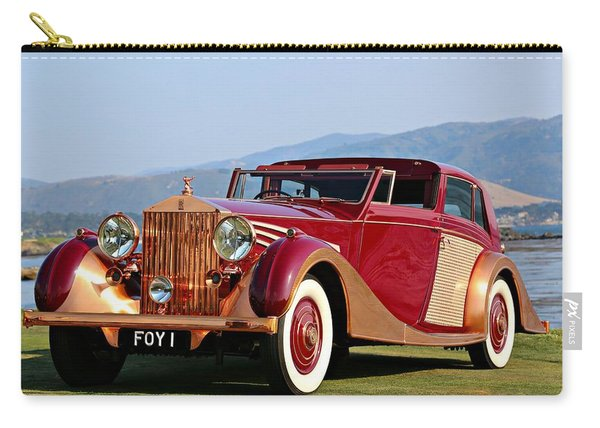 The Copper Kettle Rolls-royce Carry-all Pouch