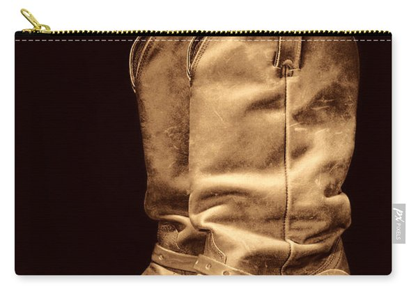 The Cowboy Boots Carry-all Pouch
