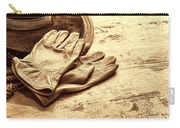 The Cowboy Gloves Carry-all Pouch